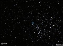 NGC 2438 – Planetary Nebula in Puppis