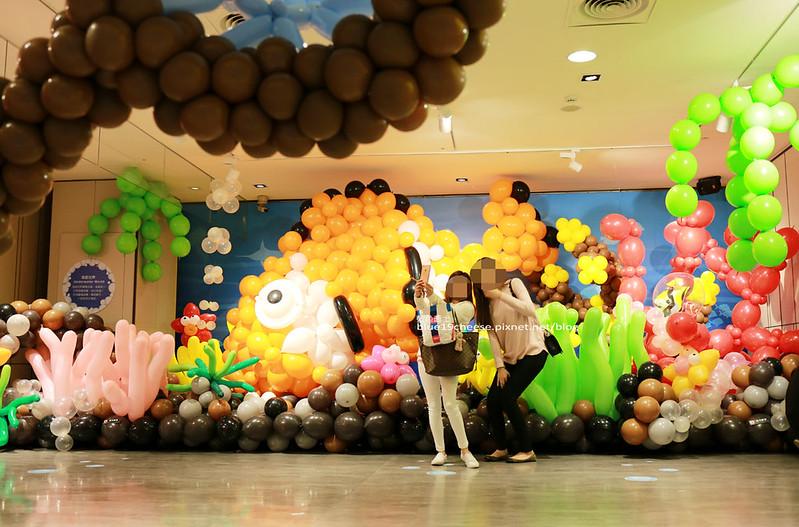 33252380361 638bf7c5ac c - 童趣幻想.氣球探索遊樂園-穿過彩虹隧道.來到氣球樂園.空中陸地海洋通通有.還有卡友限定的氣球泡泡池喔.台中新光三越10F天空劇場.3/11~3/29.免費入場參觀.假日親子遊