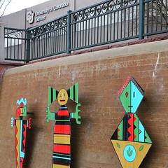 Cherry Creek Trail, Denver, Colorado #cudenver @cudenver #art #denver #denvercolorado #milehighcity #colorado #publicart #cherrycreektrail #biketrail