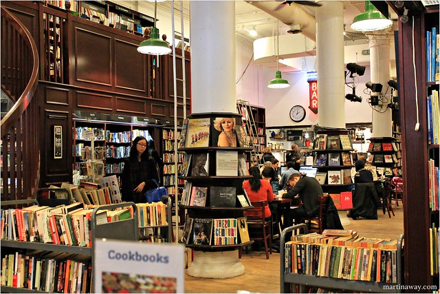 Housing Works Used Book Cafe.