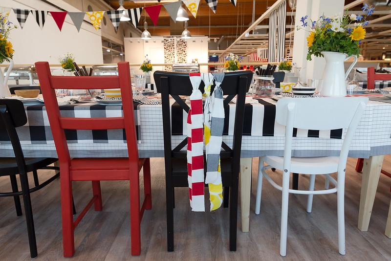 Katalogpräsentation bei IKEA Wien Nord