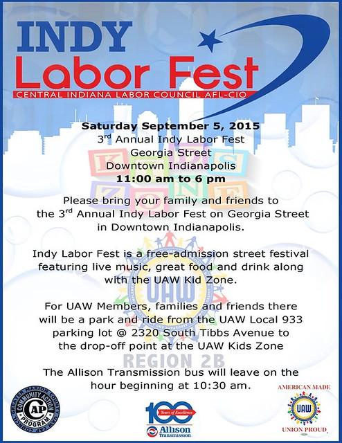 2015 Indy Labor Fest