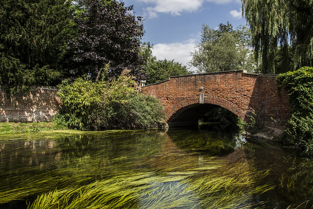 Bridge over River Stour in Fordwich, Kent