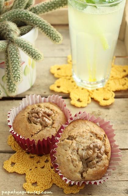 ballı susamlı muffin 004