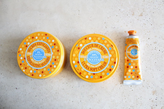 L'Occitane en Provence Melting Honey shea butter collection