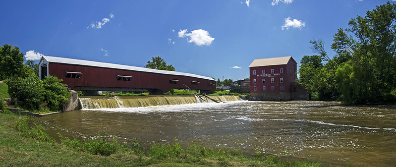 Bridgeton Covered Bridge and Mill