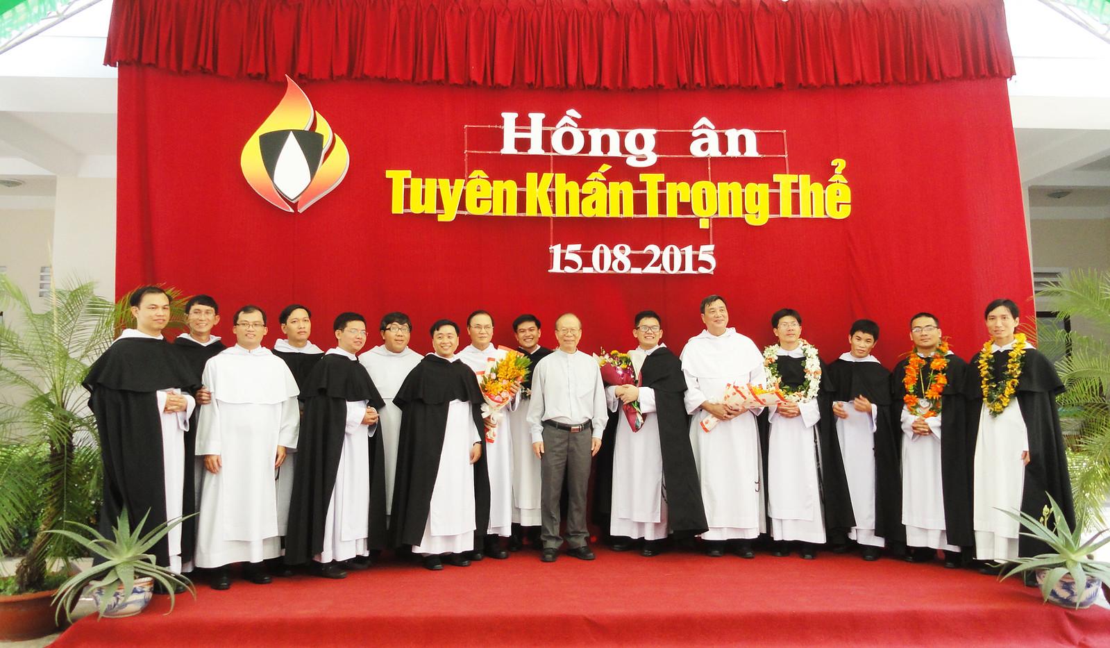 Tỉnh Dòng Đaminh Việt Nam: Thánh Lễ Tuyên Khấn Trọng Thể - 2015