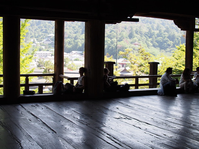 resting in Toyokuni Shrine