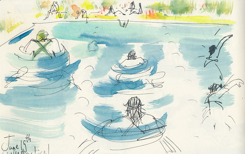 Sketchbook #91: Swimming