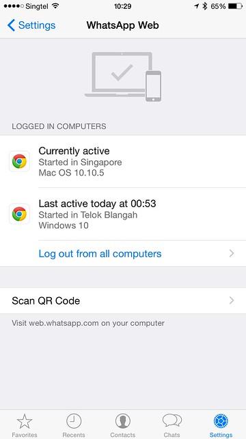 WhatsApp iOS - WhatsApp Web