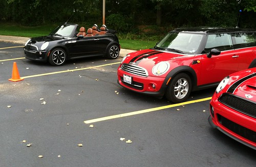 MINIs at Valpo cruise night