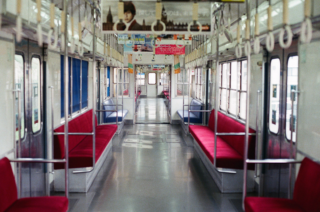 前往 西鉄新宮 西鉄貝塚線 Fukuoka 2015/09/02 只有我搭到最後一站。  Nikon FM2 / 50mm Kodak UltraMax ISO400 Photo by Toomore