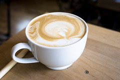 Latte from Wooden Spoon