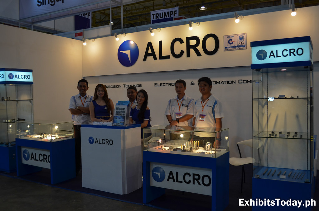 Alcro Exhibit Booth