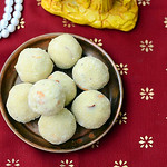 Aval laddu/Poha ladoo recipe