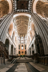 Inside Norwich Cathedral