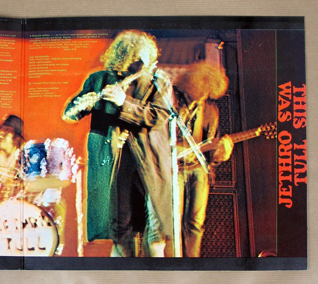 "JETHRO TULL - This Was UK England gatefold 12"" LP VINYL"