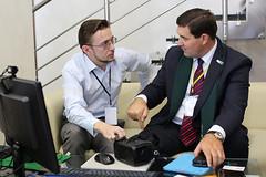 Хозяева и гости IT-конференции