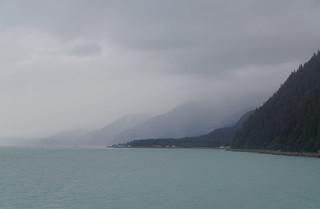 414 Uitzicht vanaf terras bij de zeehonden