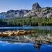 Lake George, Mammoth Lakes, California USA. by Randall R. Howard