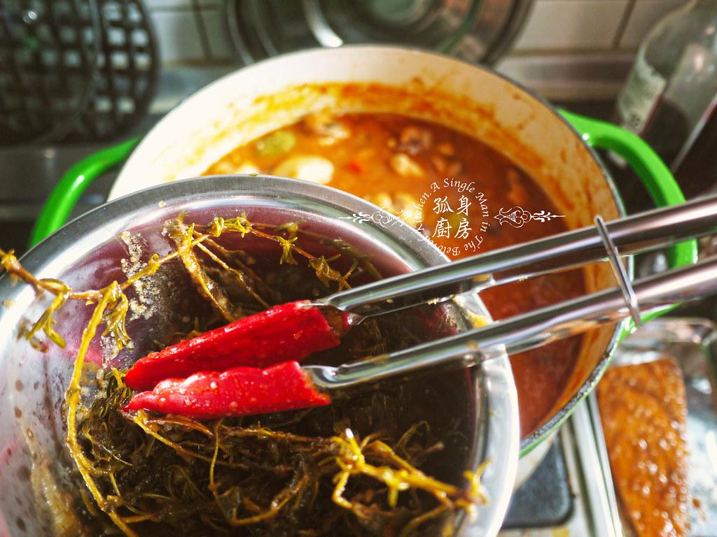 孤身廚房-蕃茄橄欖燴雞肉佐番紅花香米33
