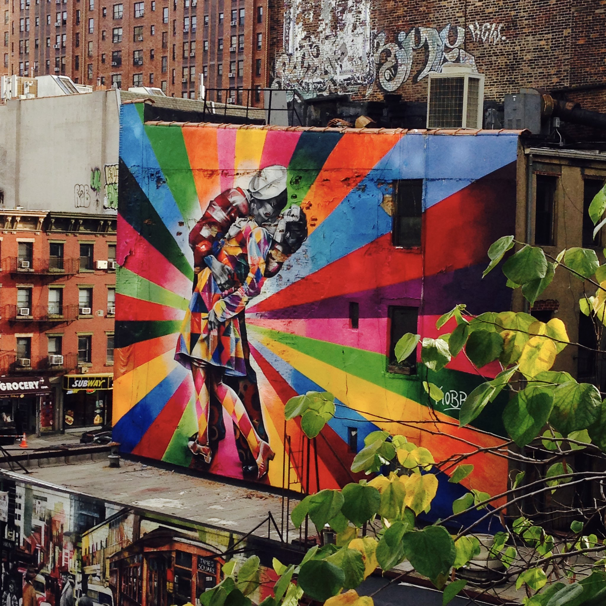 #Graffiti from the Highline