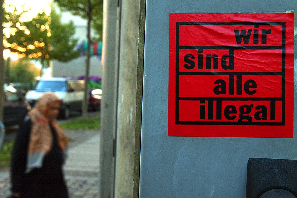 wir sind alle illegal--Leipzig