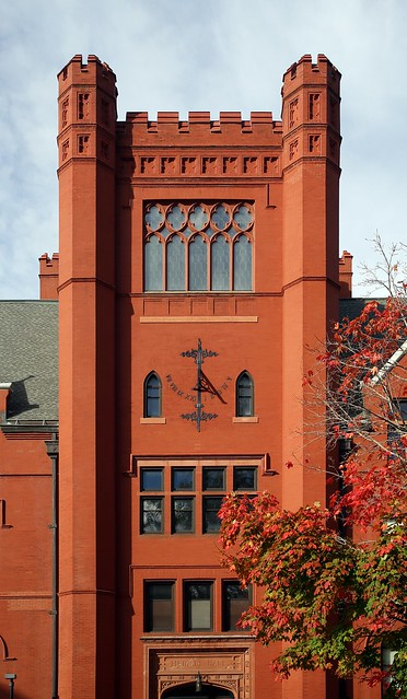 Merrill Hall Tower and Solar Clock