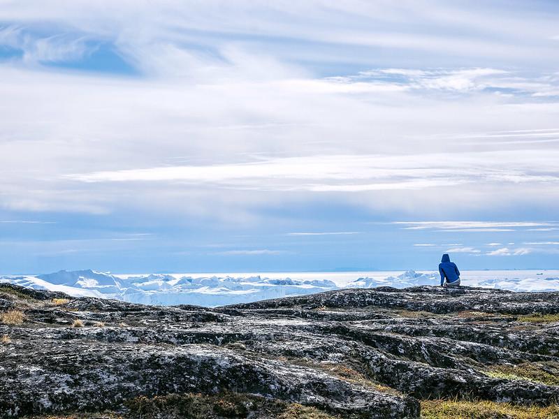 Nat vor dem Ilulissat Icefjord