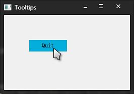 使程序退出的按钮