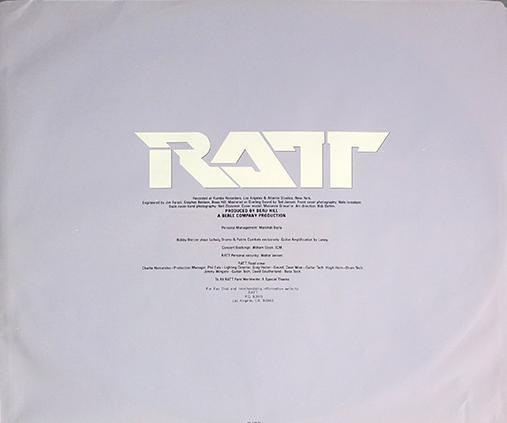 "RATT INVASION OF YOUR PRIVACY CANADA OIS 12"" LP VINYL"