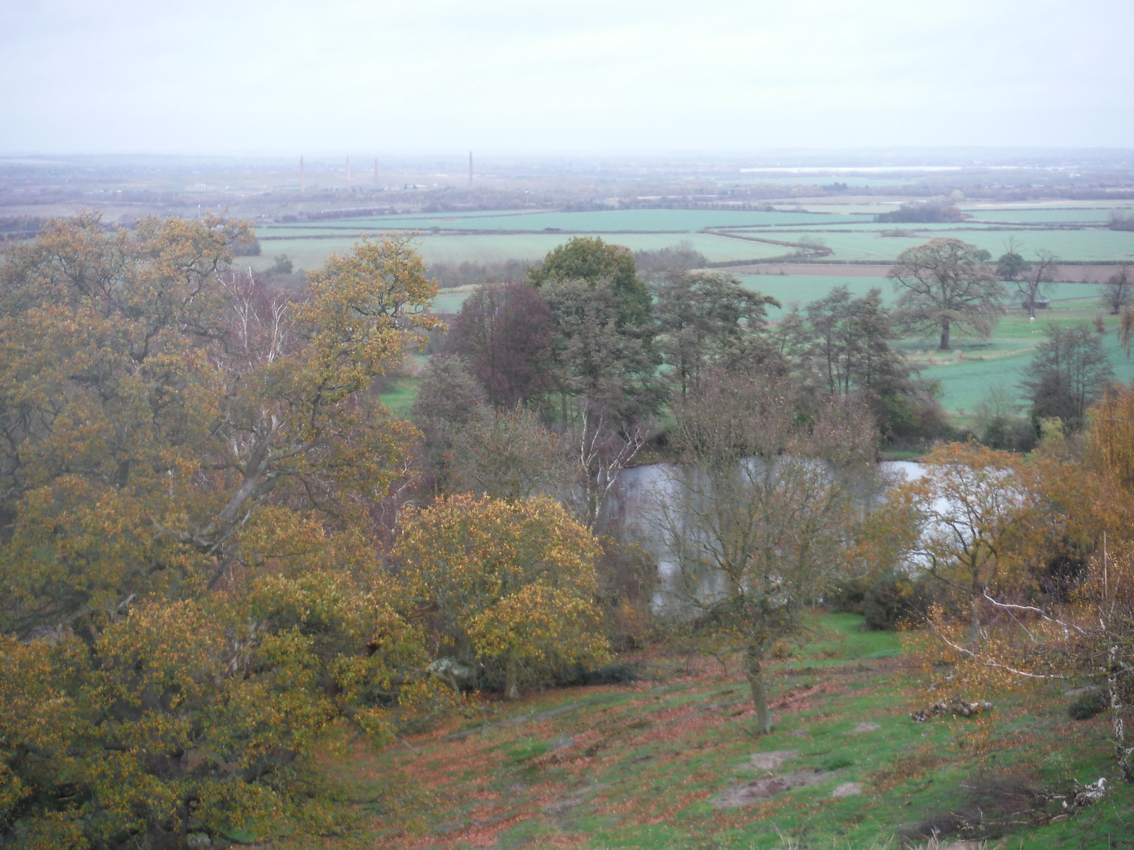 Marston Vale and Reservoir from Ampthill Park SWC Walk 232 Lidlington to Flitwick