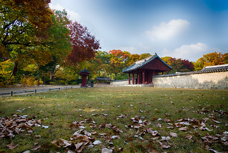 Autumn of Seoul Jongmyo Shrine