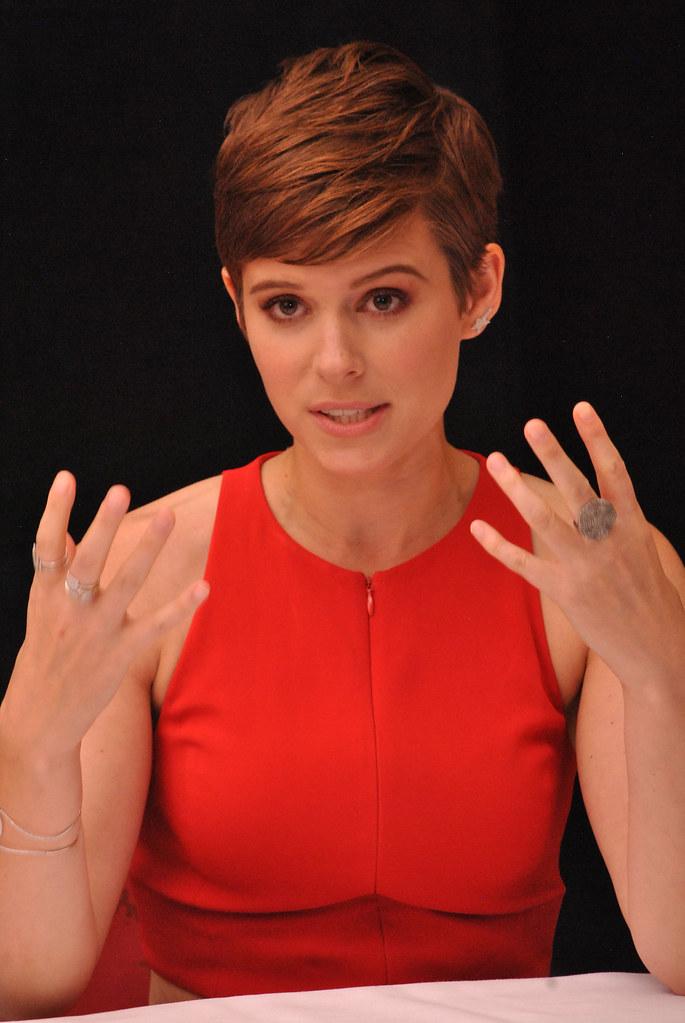 Кейт Мара — Пресс-конференция «Марсианин» на «TIFF» 2015 – 36