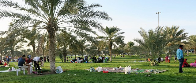 mubazzarah park picnic