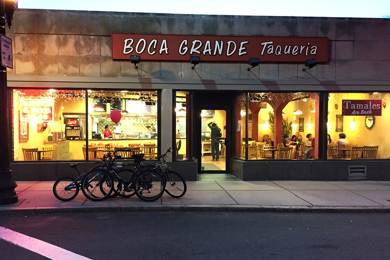 Boca Grande Taqueria, Brookline