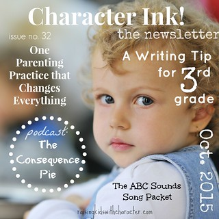 Character Ink Newsletter No. 32