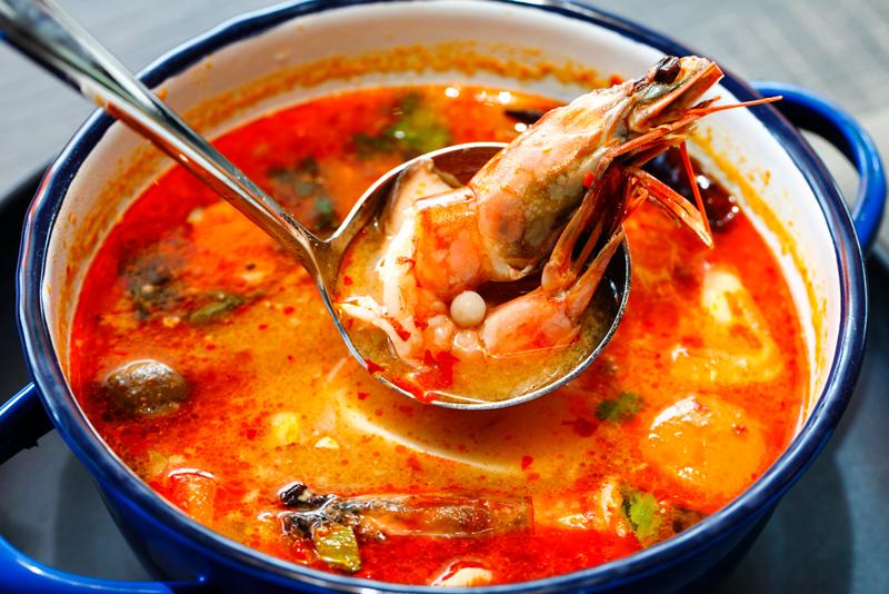 Baan Kun Ya Creamy Seafood Tomyam