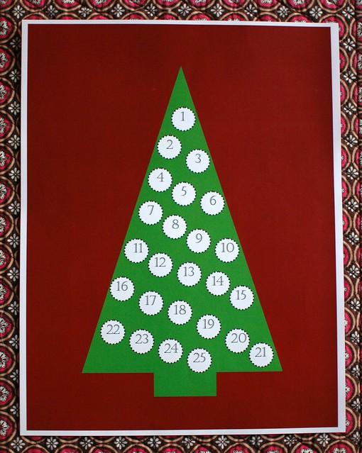 The Easiest Advent Calendar | Freshly Planted