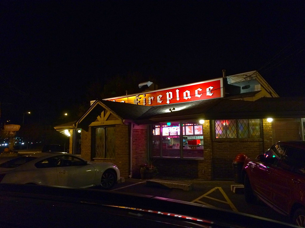 Paramus NJ Landmark - The Fireplace - Since 1956! - Retro Roadmap
