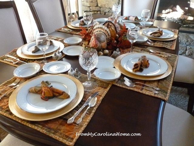 Thanksgiving Tablescape 2015 7