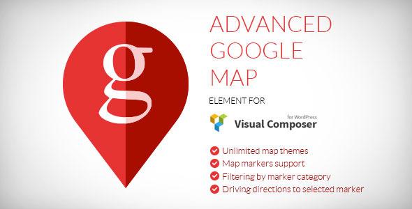 Codecanyon Visual Composer Advanced Google Map v1.4.4