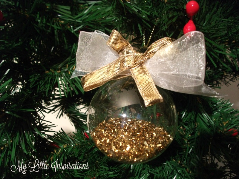 Clear Glass Ornaments MLI 6