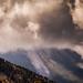 Volcán de Colima entre nubes de ceniza por Christian Villicaña (Fotografía)