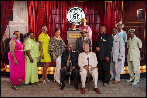 Crystal Feather Award honorees including Edwin Harrison during the 2016 Ceremony at Basin Street Station on August 13, 2016. Photo by Ryan Hodgson-Rigsbee - rhrphoto.com