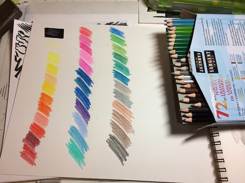 review of sargent art watercolor pencils set of 72 art supplies