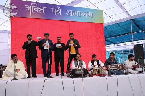 Devotional song by family for Santokh Singh Ji