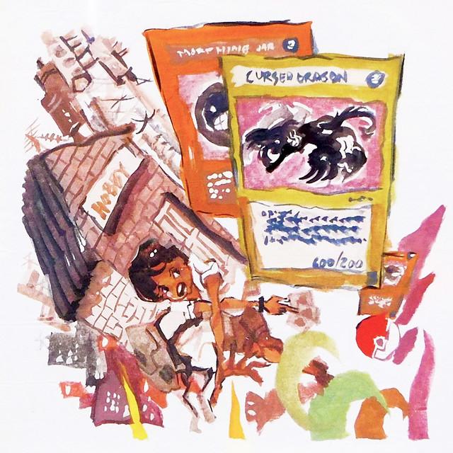 Buhay Teks 3 by Carlo Clemente at INK Fest 2015 Fullybooked Ang Ilustrador ng Kabataan