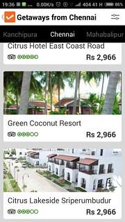 ClearTrip-App-Getaways-Chennai
