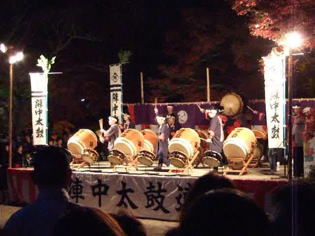 20081123 香嵐渓 陣中太鼓